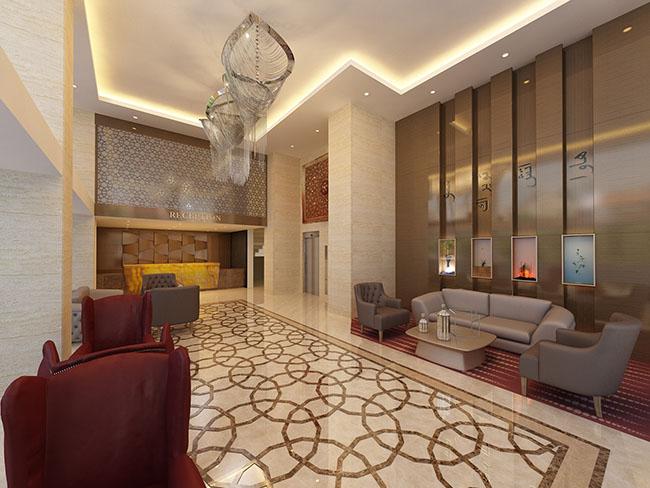 Obje mimarl k konya mimarl k 3d g rselle tirme for Reyyan hotel